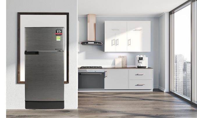 Tủ lạnh Sharp Inverter 165 lít SJ-X176E-DSS - Chức năng làm đá nhanh chóng