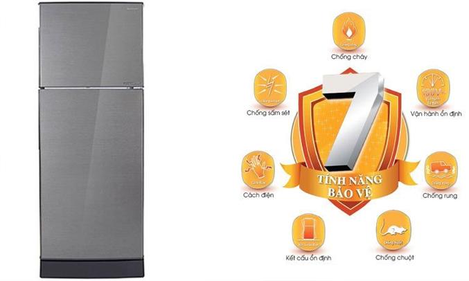 Tủ lạnh Sharp 196 lít SJ-X201E-SL hoạt động bền bỉ, tuổi thọ sử dụng cao