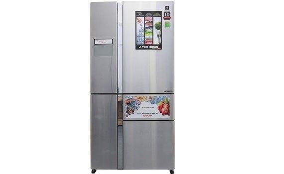 Tủ lạnh Sharp 660 lít SJ-F5X76VM-SL chính hãng, giá tốt tại nguyenkim.com