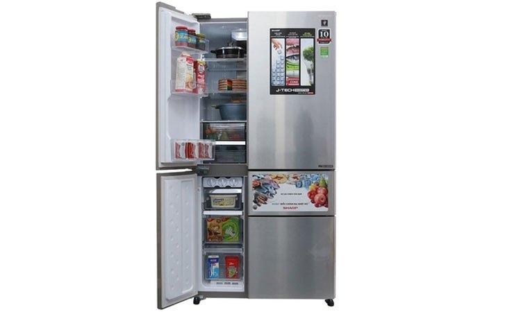 Tủ lạnh cao cấp hiện đại có thiết kế sang trọng và đẳng cấp