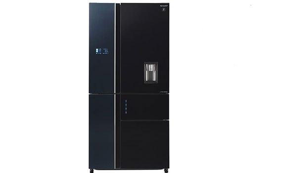 Tủ lạnh Sharp 758 lít SJ-F5X75VGW-BK chính hãng, giá tốt tại nguyenkim.com