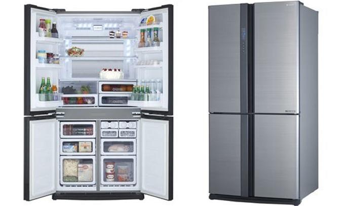 Tủ lạnh Sharp SJ-FX630V 556 lít bán trả góp tại nguyenkim.com