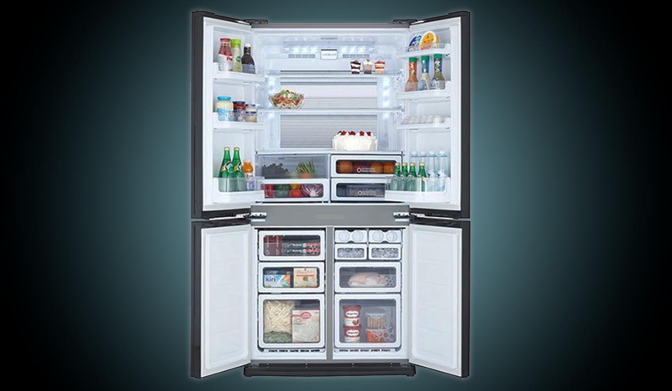 Tủ lạnh Sharp SJ-FX680V 605 lít 4 cửa