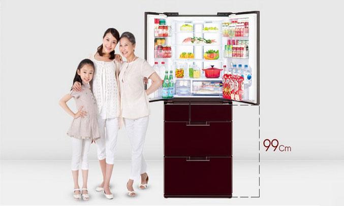 Tủ lạnh Sharp SJ-GF60A tiết kiệm điện