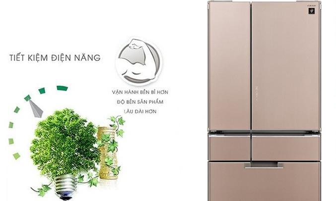 Tủ lạnh Sharp SJ-GF60A 470 lít tiết kiệm điện năng