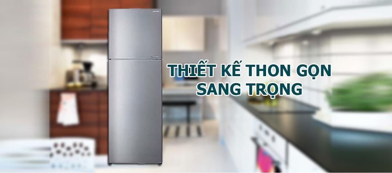 Tủ lạnh loại nào tốt? Tủ lạnh Sharp SJ-X251E-SL 224 lít