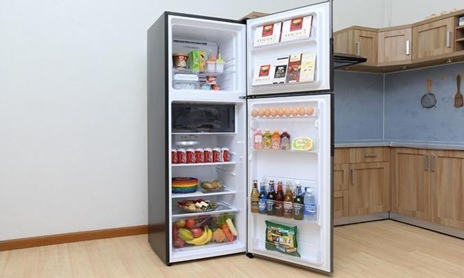 Tủ lạnh Sharp SJ-X316E-DS dung tích 314 lít
