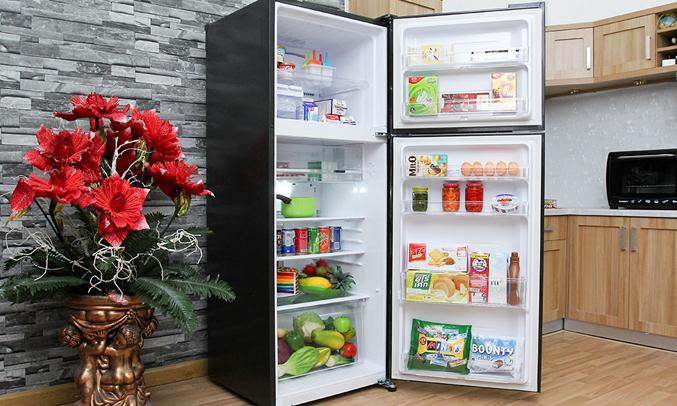 Tủ lạnh Sharp SJ-XP400PG-BK giúp thực phẩm giữ được độ tươi ngon