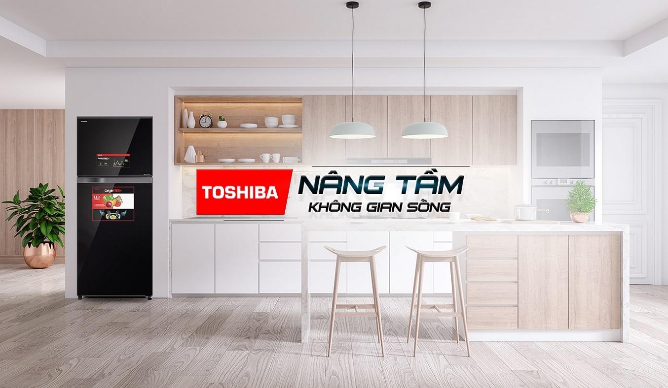 Tủ lạnh Toshiba Inverter 359 lít GR-AG41VPDZ (XK1) - Tủ lạnh Toshiba Inverter 359 lít sang trọng tô điểm không gian sống