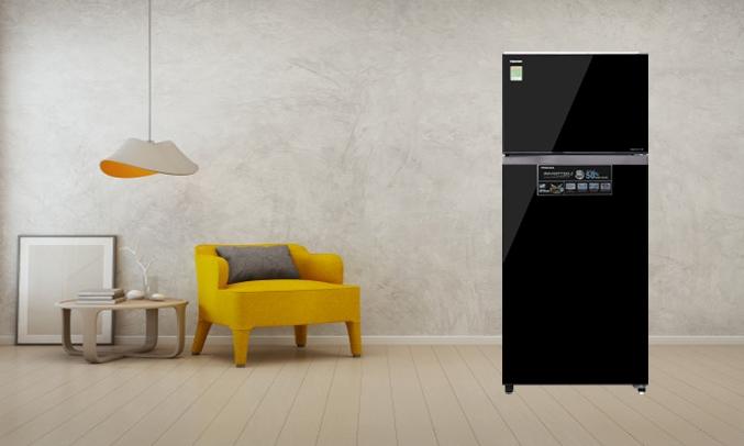 Tủ lạnh Toshiba Inverter 409 lít GR-AG46VPDZ (XK1) - Vận hành hiệu quả, tiết kiệm điện năng