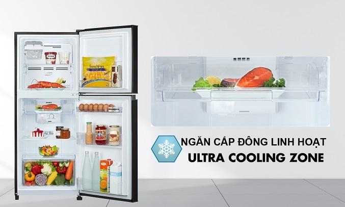 Tủ Lạnh Toshiba Inverter 194 lít GR-A25VM(UKG1) - Ngăn đông mềm
