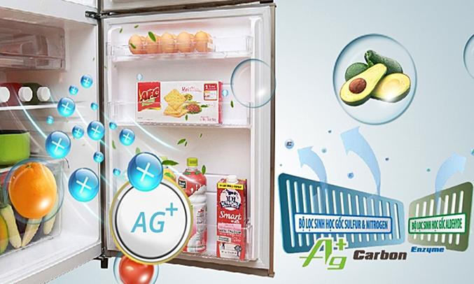 ủ lạnh Toshiba GR-S19VPP hiệu quả trong việc diệt khuẩn, khử mùi