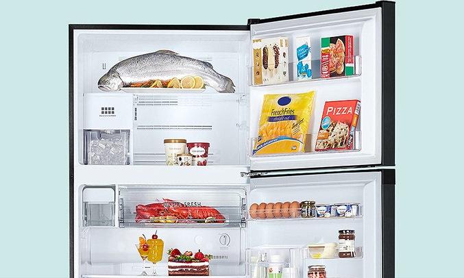 Tủ Lạnh Toshiba Inverter 194 lít GR-A25VM (UKG1) dung tich lớn