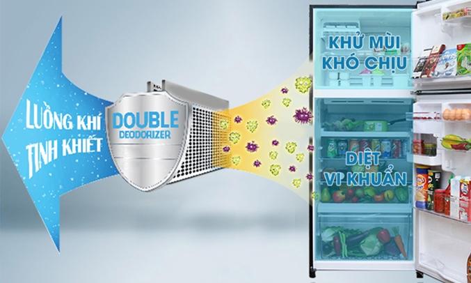 Tủ lạnh Toshiba GR-TG41VPDZ (XK1) 359 lít hệ thống khử mùi tối ưu