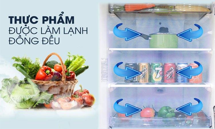 Tủ lạnh Panasonic 238 lít NR-BL267VSV1 bảo quản thực phẩm tươi tốt