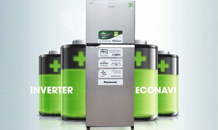 Tủ lạnh PANASONIC 271 lít NR-BL308PSVN tiết kiệm chi phí tiền điện tối ưu