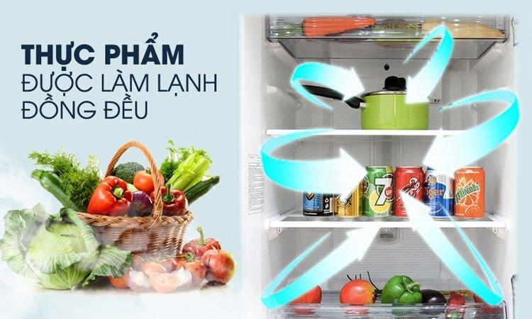 Tủ lạnh PANASONIC 307 lít NR-BL348PSVN bảo quản thực phẩm tươi tốt