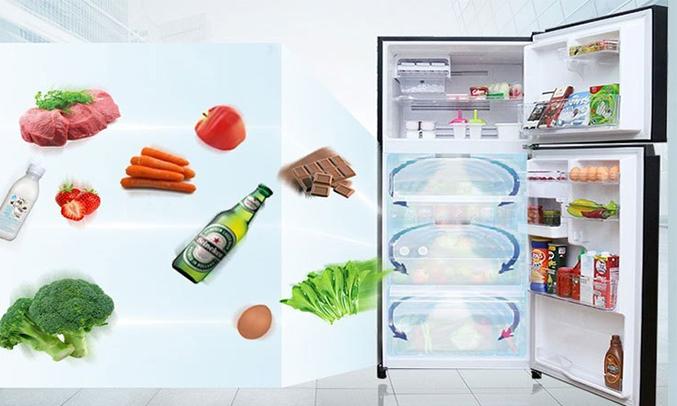 Tủ lạnh Toshiba 305 lít GR-MG36VUBZ (XK) làm lạnh nhanh