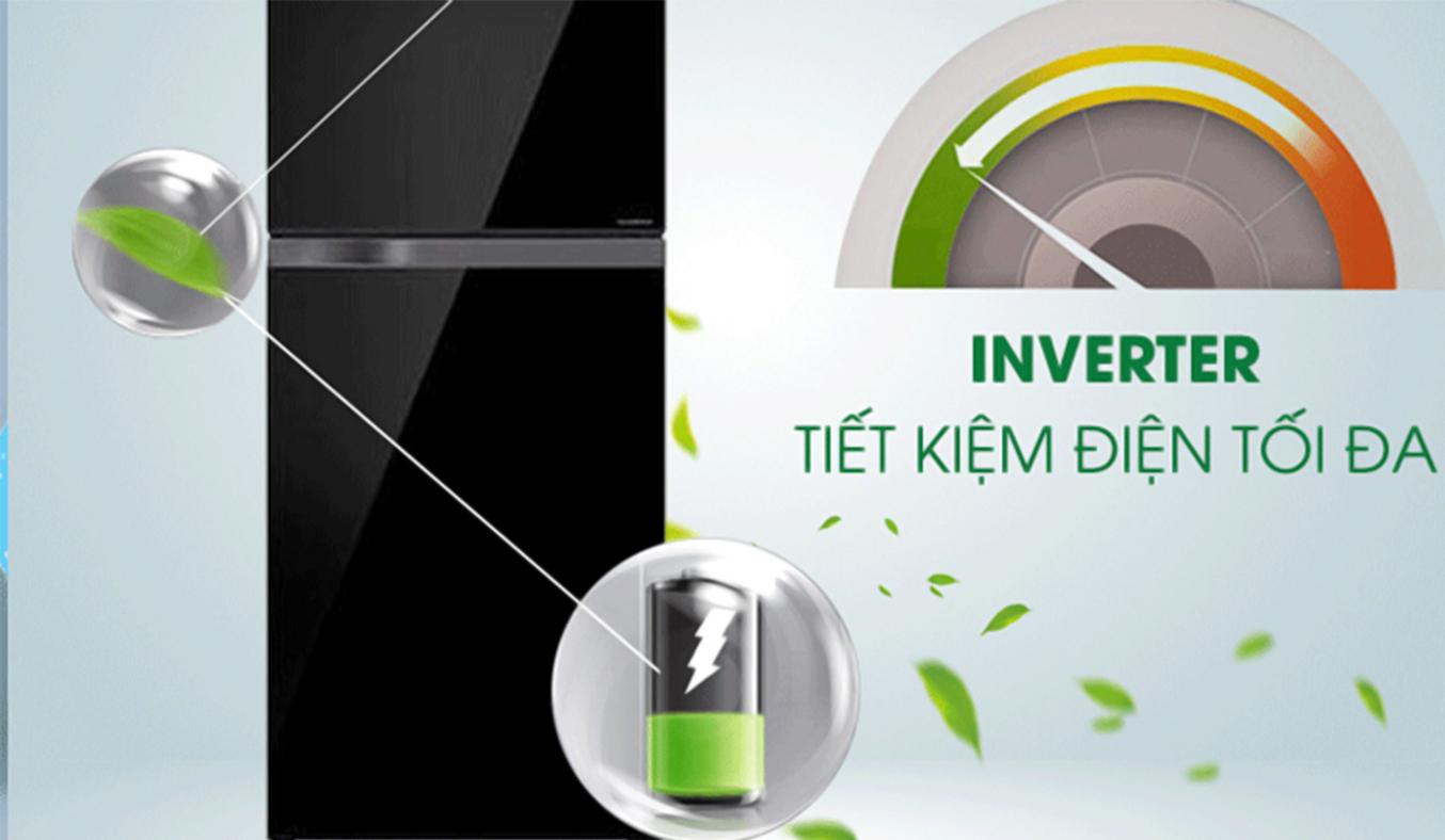 Tủ lạnh Toshiba 409 lít GR-TG46VPDZ tiết kiệm điện