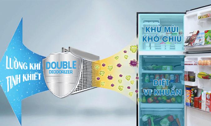 Tủ lạnh Toshiba 409 lít GR-TG46VPDZ kháng khuẩn, khử mùi
