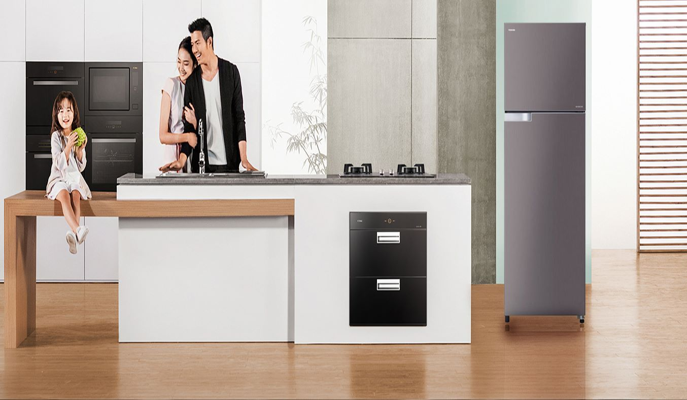 Tủ lạnh Toshiba Inverter 180 lít GR-B22VP