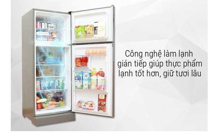 Tủ lạnh Toshiba GR-M28VBZ(S) làm lạnh nhanh khắp các ngăn tủ