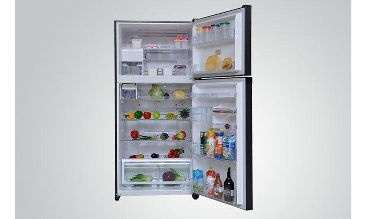 Tủ lạnh Toshiba GR-M28VUBZ(UB) 226 lít xanh đen khay kính chịu lực bền bỉ