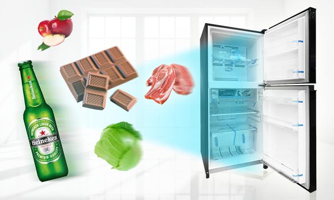 Tủ lạnh Toshiba Inveter 171 lít GR-M21VUZ1 (UKK) đơn giản mà sang trọng