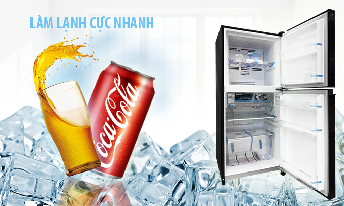 Tủ lạnh Toshiba Inveter 171 lít GR-M21VUZ1 (UKK) làm mát cực nhanh