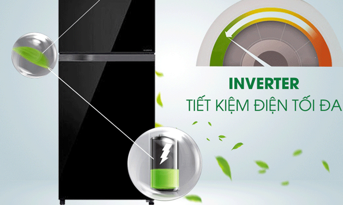 Tủ lạnh Toshiba Inveter 171 lít GR-M21VUZ1 (UKK) ngăn rau quả riêng biệt dùy trì độ ẩm tốt