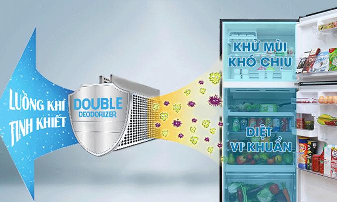 Tủ lạnh Toshiba Inverter 359 lít GR-TG41VPDZ kháng khuẩn, khử mùi hội vượt trội