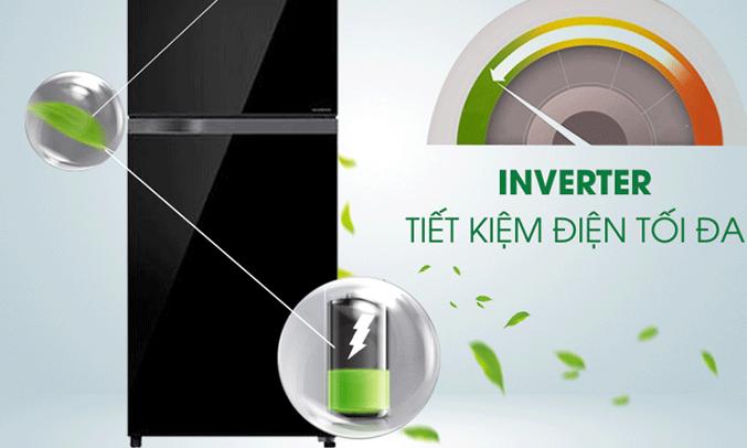 Tủ lạnh Toshiba Inverter 359 lít GR-TG41VPDZ ngăn rau quả riêng biệt dùy trì độ ẩm tốt