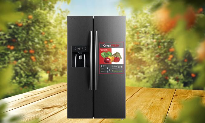 Tủ lạnh Toshiba Inverter 493 Lít GR-RS637WE-PMV(06) - Công nghệ Origin Inverter