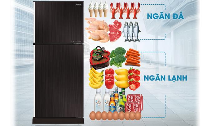 Tủ lạnh Aqua AQR-I247BN (DC) giá tốt