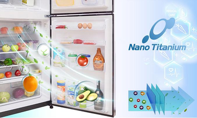 Tủ lạnh Aqua AQR-I247BN (DC) khử mùi