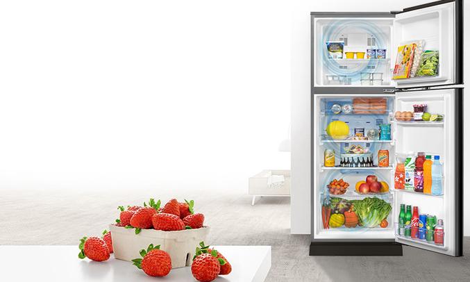 Tủ lạnh Aqua AQR-I247BN (DC)phân phối tại Nguyenkim