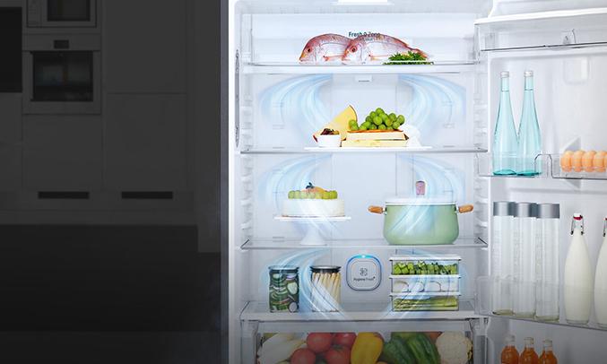 Tủ lạnh Aqua AQR-I247BN (DC)tuổi thọ cao