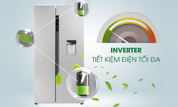 Tủ lạnh Aqua AQR-I565AS (SW) chính hãng