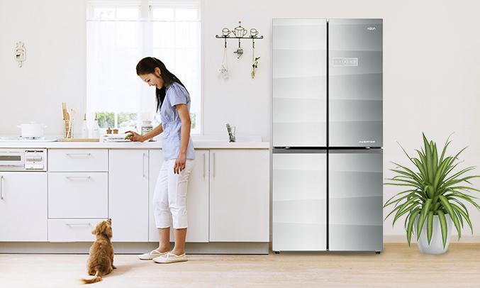 Tủ lạnh Aqua AQR-IG595AM (GS) giá tốt