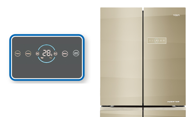 Tủ lạnh Aqua AQR-IG595AM (SG) làm lạnh nhanh