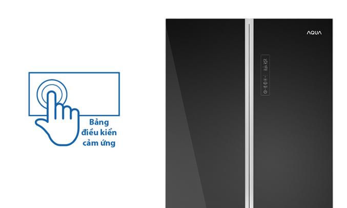 Tủ lạnh Aqua AQR-IG656AM (GB) cảm ứng