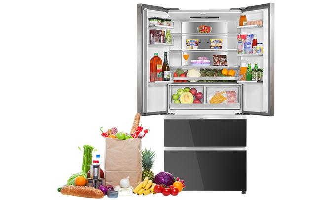 Tủ lạnh Aqua AQR-IG656AM (GB) dung tích lớn