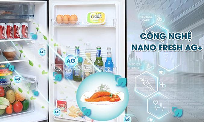 Tủ lạnh Aqua AQR-IG316DN (GB)kháng khuẩn