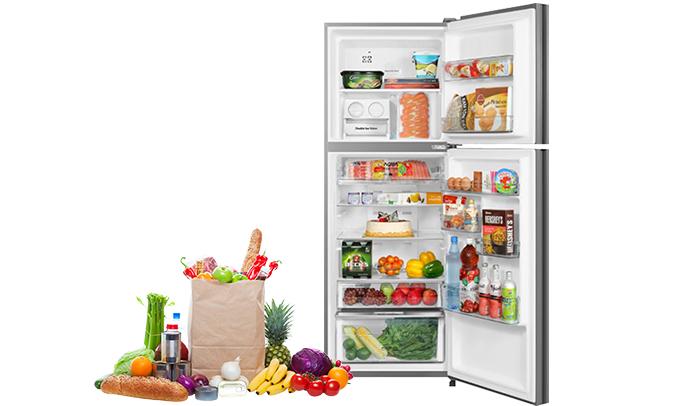 Tủ lạnh Aqua 318 lít AQR-IG356DN (GB) chính hãng