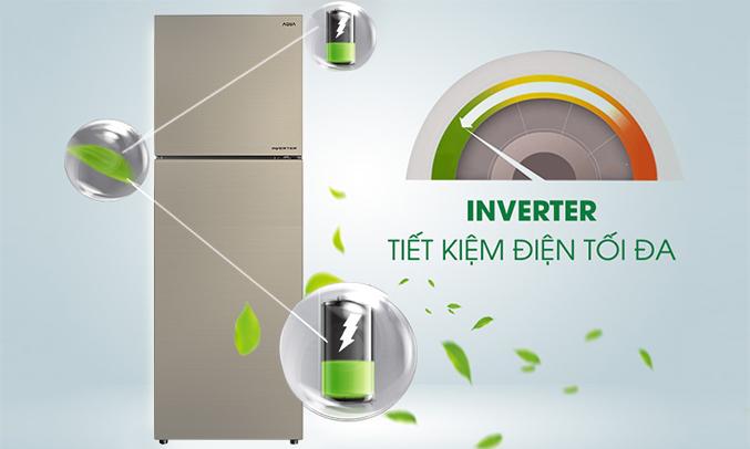 Tủ lạnh Aqua 318 lít AQR-IG356DN (GB) giá tốt