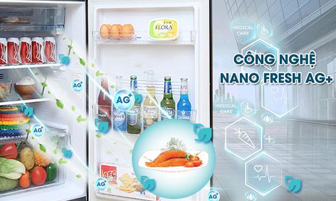 Tủ lạnh Aqua 318 lít AQR-IG356DN (GB) khử mùi