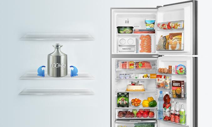 Tủ lạnh Aqua 318 lít AQR-IG356DN (GB) tuổi thọ cao