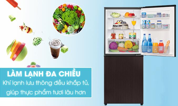 Tủ lạnh Aqua AQR-IP290DB (DC) giữ thực phẩm tươi ngon