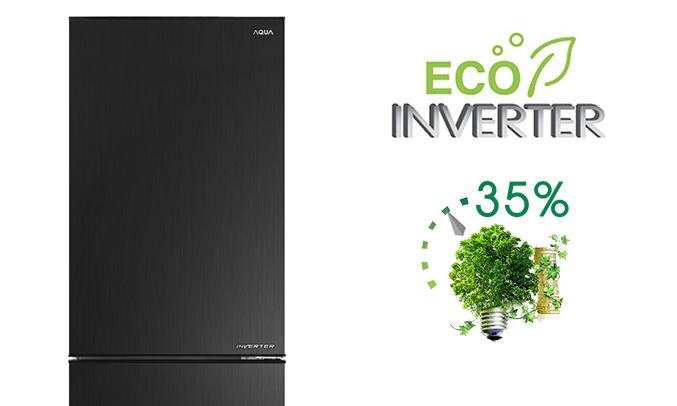 Tủ lạnh Aqua AQR-IP350DB (BL) giá tốt