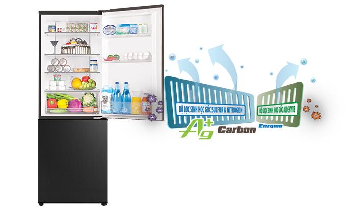 Tủ lạnh Aqua AQR-IP350DB (BL) khuyến mãi lớn